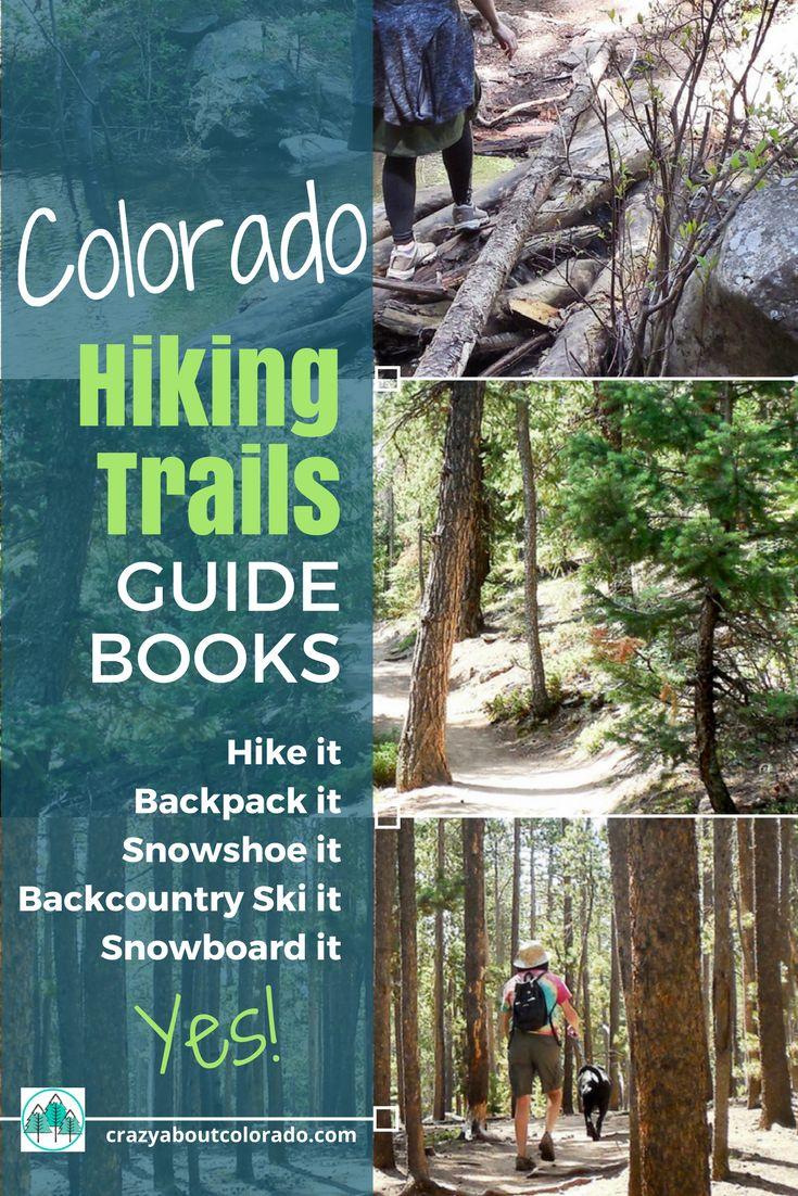 Colorado Hiking Trail Books. Colorado Maps. Where to hike in Colorado. Where to snowshoe in Colorado. Colorado winter activities. Colorado 14ers. Colorado hikes. Hiking in Colorado mountains. Best hikes near Colorado Springs.