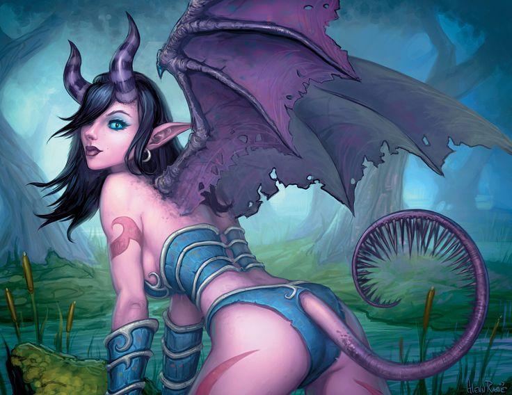 World of warcraft succubus nude
