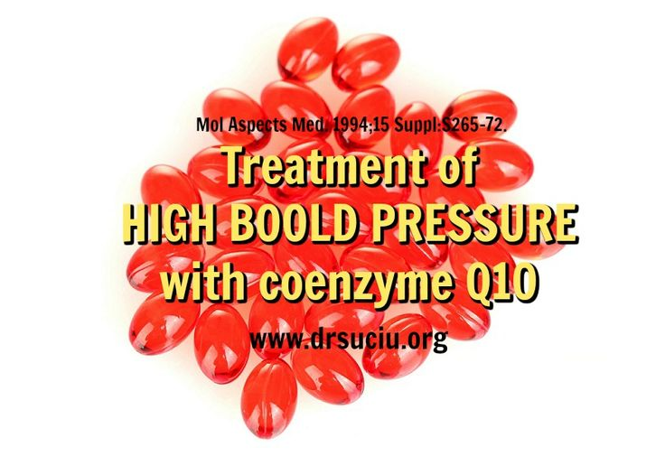 Picture Coenzyme Q10 and high blood pressure - drsuciu