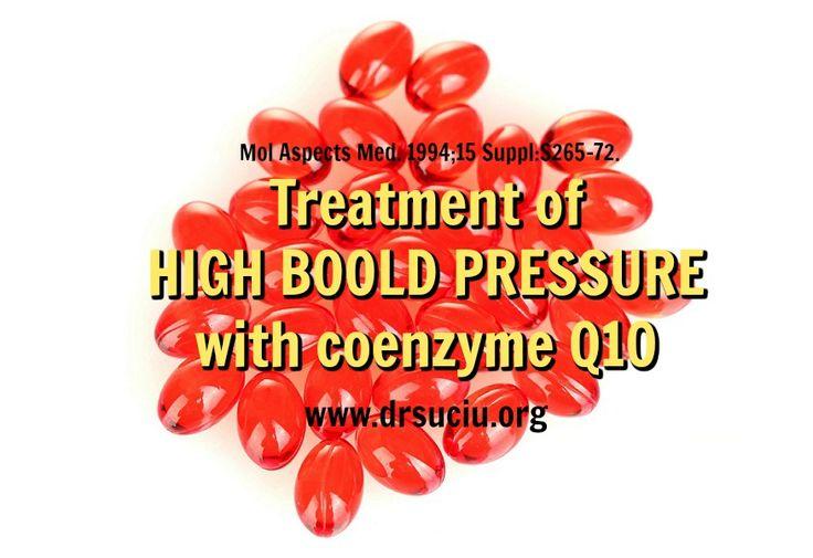 Picture Coenzyme Q10 and high blood pressure - drsuciu
