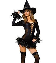 Карнавальный костюм ведьма купить