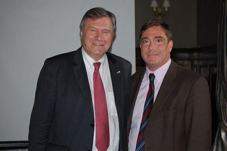 Με τον Wolfgang Gerhardt