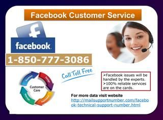 Take Facebook customer service to install Facebook Lite 1-850-777-3086Do you want to keep with friend in faster and easier way? Do you want to install Facebook lite app? If yes, you can contact our Facebook customer service technician who will let you know about this application and provides you complete detail to install Facebook lite application. You can reach to our experts by dialing our toll-free number 1-850-777-3086. http://mailsupportnumber.com/facebook-technical-support-number.html