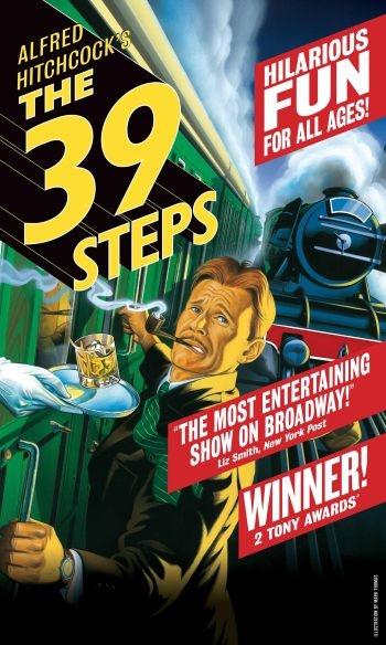 "Great local production of ""The 39 Steps"" with OkState Theatre Dept (March 2015)"
