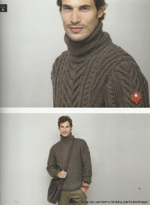 Мужской свитер (Phildar 60). Обсуждение на LiveInternet - Российский Сервис Онлайн-Дневников