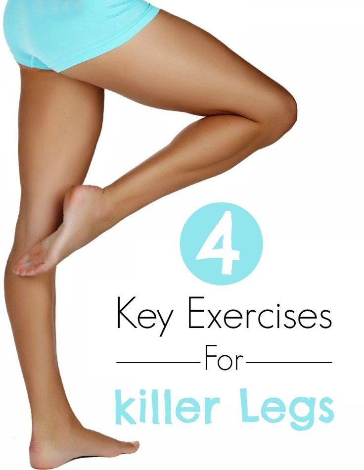 Want to make your legs look strong and sexy? Try these 4 essential exercises. Why do we gain weight on our legs? Bad news first: th...