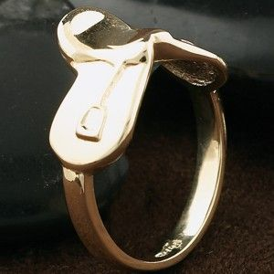 quirky+ring | ... Ring Shaped like an English saddle, this ring is a fun and quirky way