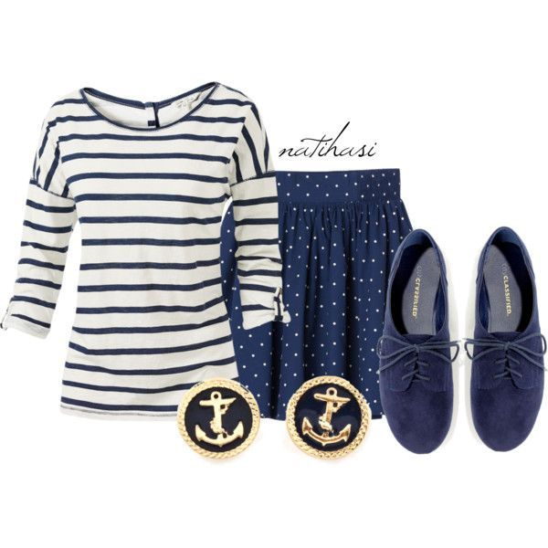 Marine Summer to Fall Outfit by natihasi on Polyvore