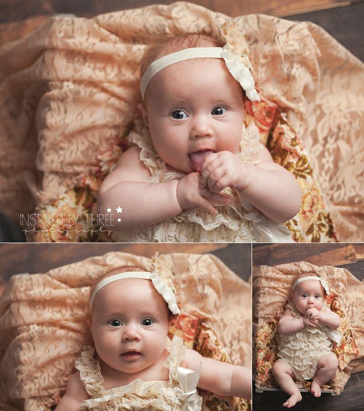 Rylee 3months jonesboro ar newborn and child photography