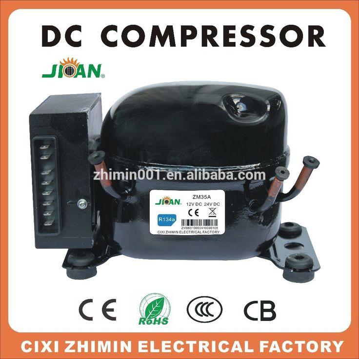 ZM35DC refrigerant R134a 12V 24V dc compressor for home car refrigerator freezer fridge for sale