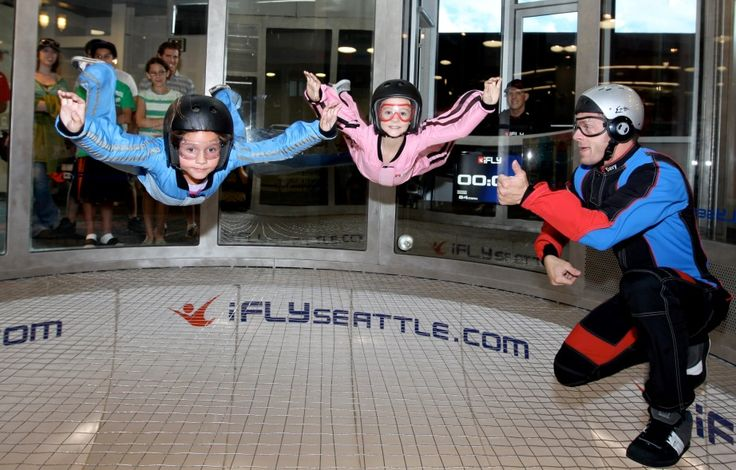 4.  iFly Indoor Skydiving Seattle's Top 10 Attractions! - Blog - Seattle Southside