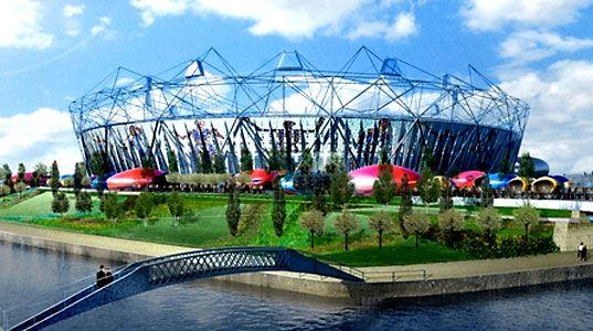 HOK Sport stadium design, HOK Sport London Olympic stadium, London Olympic stadium, Olympic Games London 2012, 2016 Olympic Games, Olympic Delivery Authority, HOK stadium design