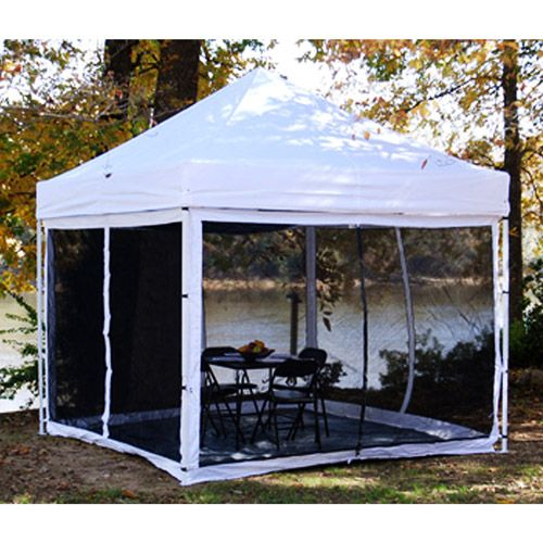 King Canopy's 10' x 10' Bug Screen Room for Explorer Pop ...