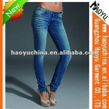 Fashion new design top quality women skinny blue denim jean (HY5649) Best Buy follow this link http://shopingayo.space