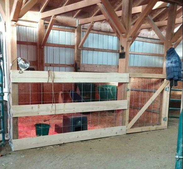 Horse Barn Makeover