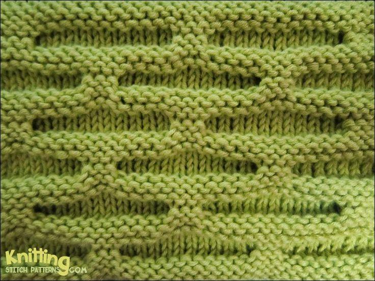 Honeycomb Knitting Stitch Pattern : 17 Best images about Knitting and Crochet Stitch Patterns on Pinterest Colu...