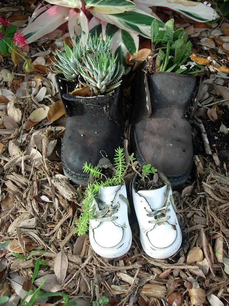 Creative Gardens Containers Idea Container Ideas Florida Gardening Forum Gardenweb