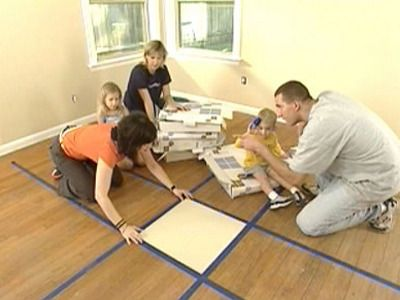 Our friends at DIY Network show you how to quickly and easily install carpet tiles! You'll get a better deal by shopping at our Store!