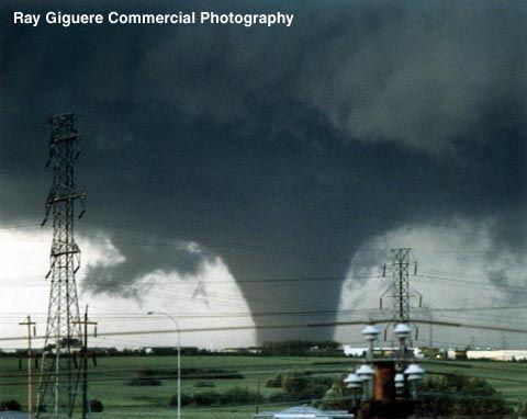 1987 Edmonton Tornado