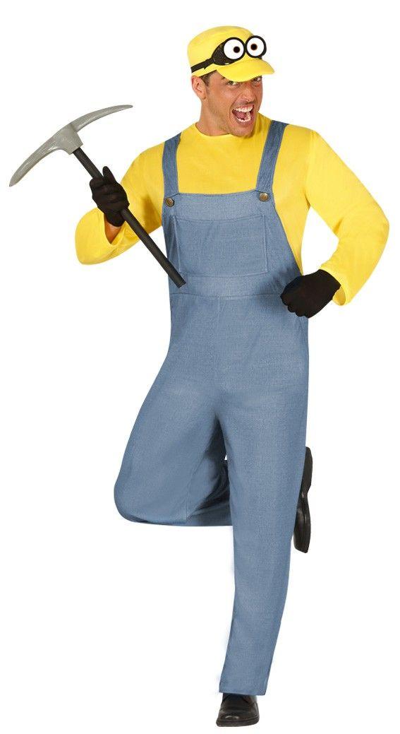 Disfraz de Minion Amarillo para hombre