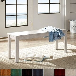 Wilmington II Wood Dining Bench from iNSPIRE Q Classic