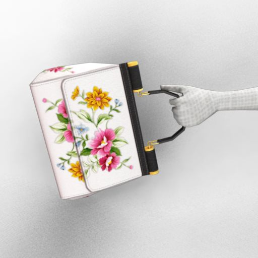 In Bloom Flowers Handbag
