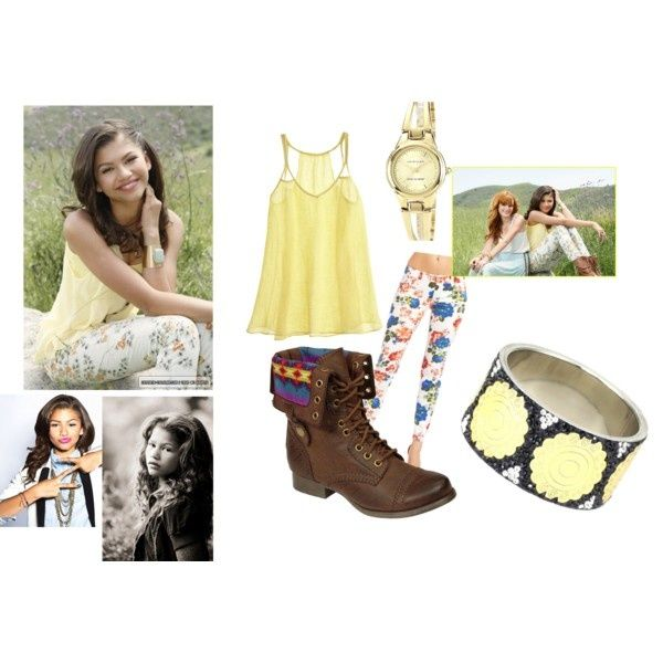 another version of Zendaya's outfit -- where can the real one be? *g*