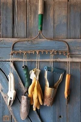 Organizing Garden Tools { 6 ideas }