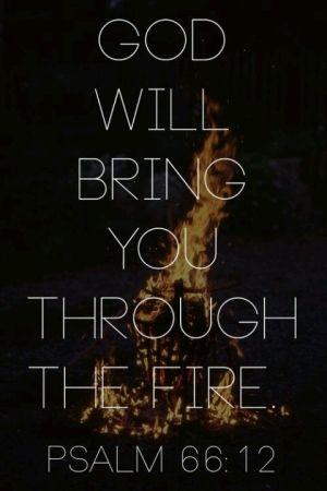 Psalm 66:12 by reba