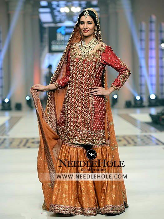 Shop Pakistani Designer Mehdi Wedding Gharara Suits Find ...