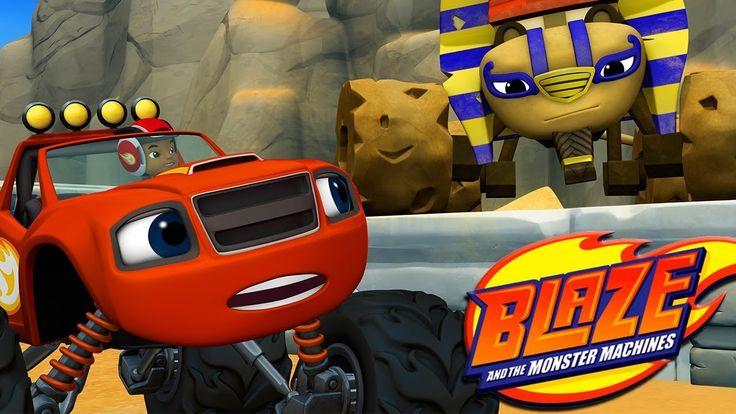 Blaze and the Monster Machines Race to the Top World! Nickelodeon Jr Fun Kids Game for Kids