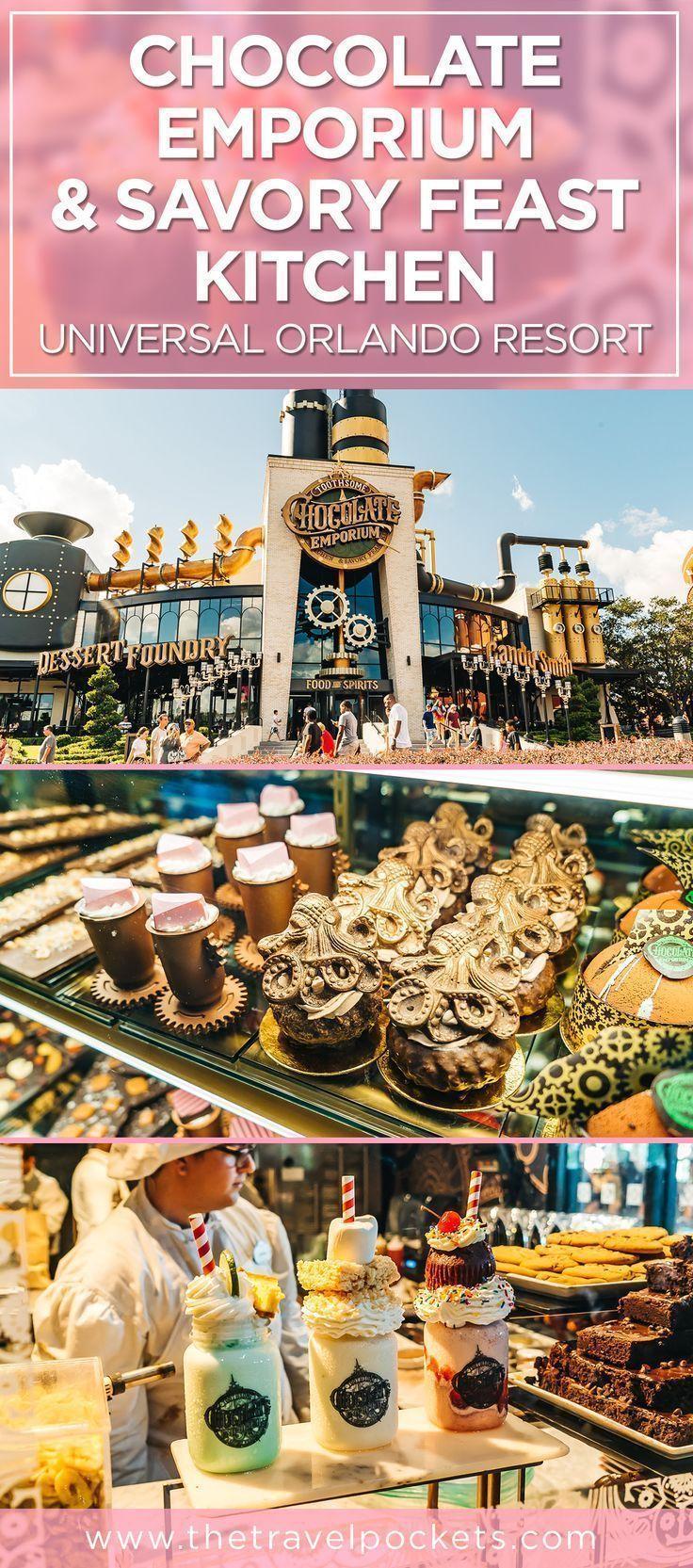 Try The Awesome Chocolate Factory In Orlando At Toothsome Chocolate Emporium Travel Pockets In 2020 Orlando Florida Vacation Universal Orlando Resort Universal Studios Orlando Trip