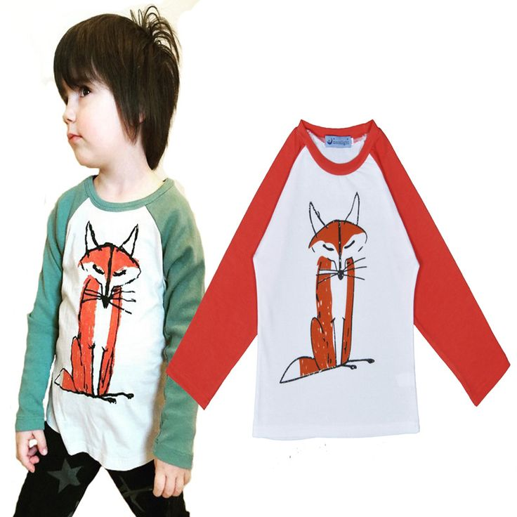 2015 Kids t-shirt Brand bobo choses Boys tops lovely animal Pattern long sleeve t-shirt cotton baby clothes boy Autumn T-shirt