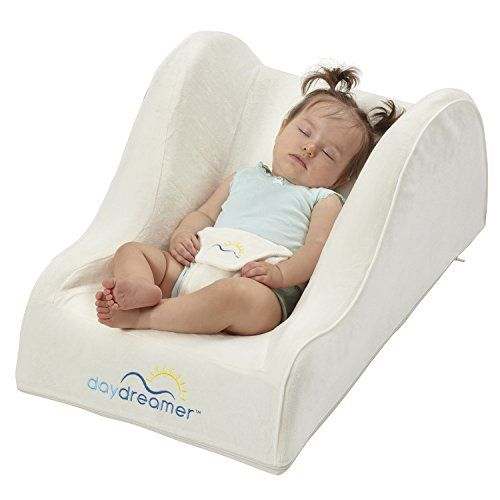 DexBaby DayDreamer Infant Sleeper Baby Napper and Lounger Seat - Inclined Portable Sleeper Travel Infant Bed, Ecru Off White - $69.99