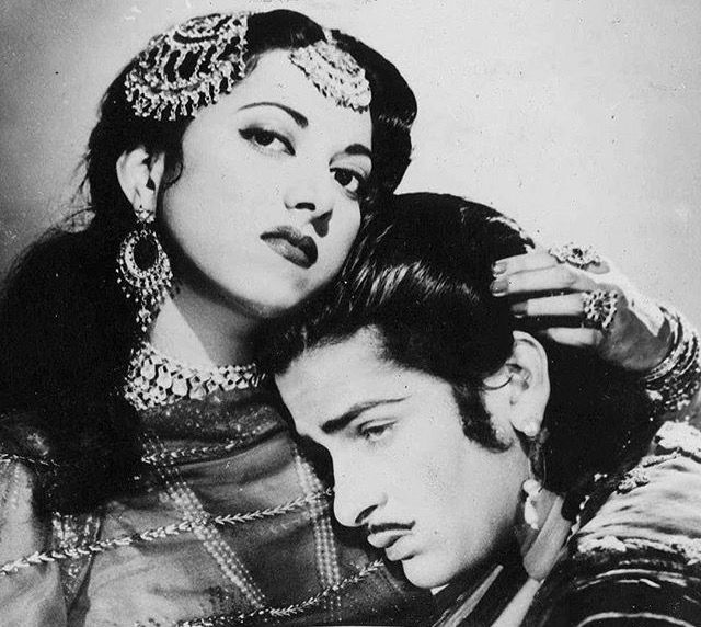 Surayia and Shammi Kapoor