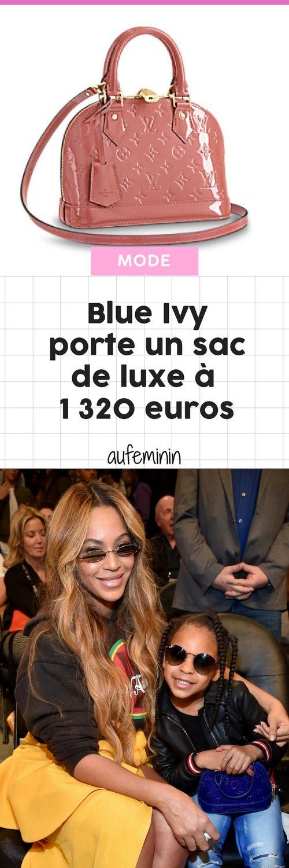 A 6 ans seulement, Blue Ivy a déjà un sac à 1 320 euros (et tout va bien) #louis Buitton #beyonce #blueivy #alma #sac #luxe #accessoire #mode #aufeminin