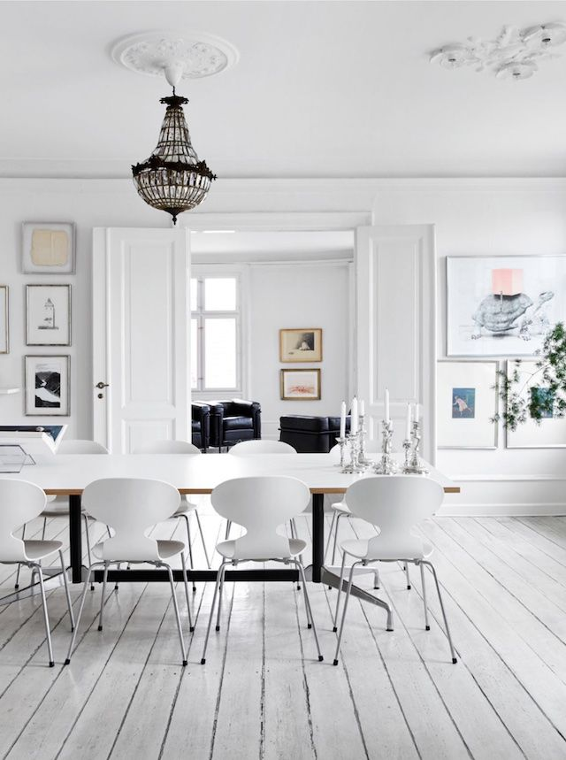 Visit | A Danish home with red accents - French By Design
