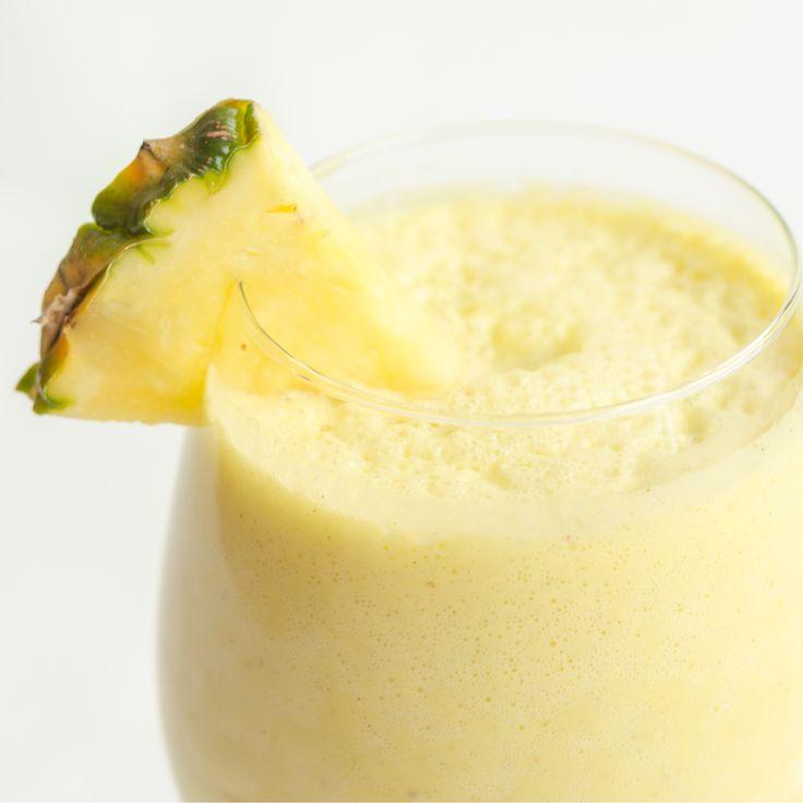 Ananasové smoothie s konopným semínkem