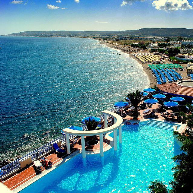 summertime blue    the bay of Kardamena - island of Kos - Greece