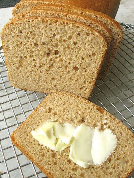 No-Knead 100% Whole Wheat Bread | Bread | Pinterest | Whole Wheat ...