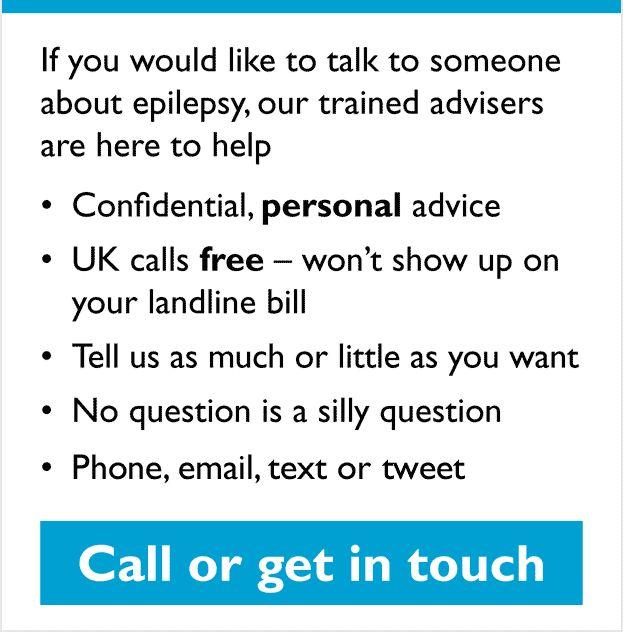 Epilepsy Action helpline