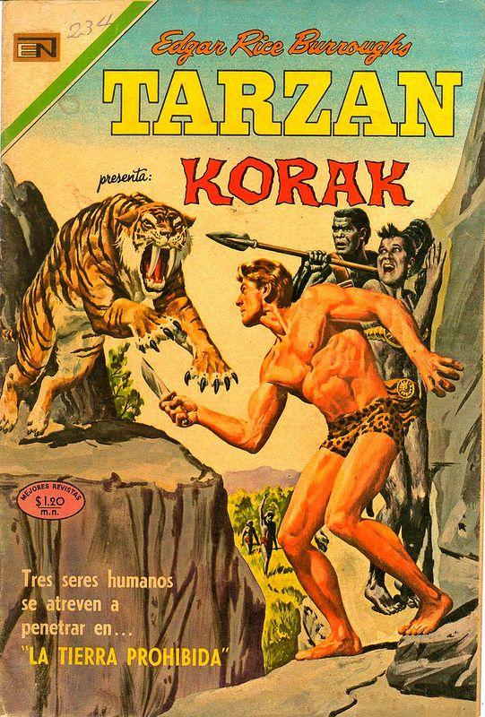 Tarzán de los Monos. Año XIX número 234. Enero 15 de 1970. Editada por Novaro México