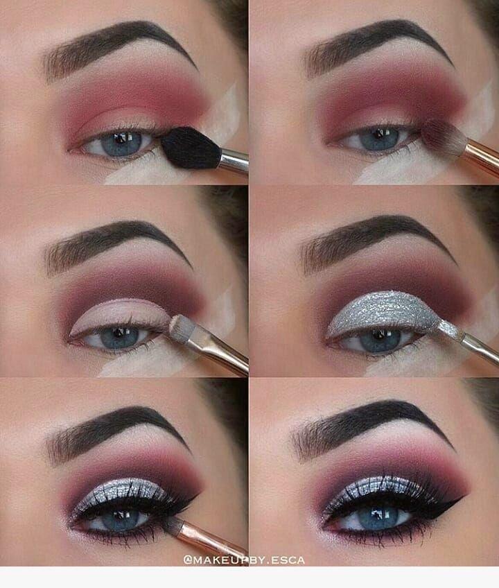 Schöne 40 Winteraugen Makeup Ideen #schön #winter #leicht #messen – Augen …   – Nageldesign