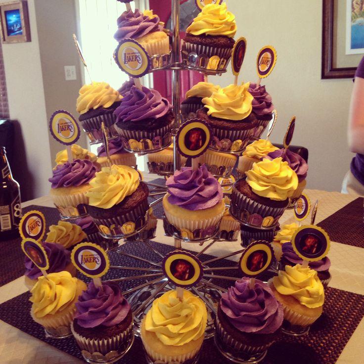 Lakers Themed Baby Shower: 8 Best Laker Cake Images On Pinterest