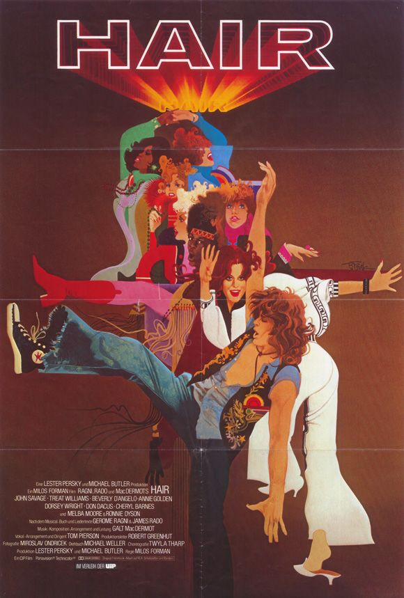 Hair (1979) - directed by Milo Forman, choreography by Twyla Tharp