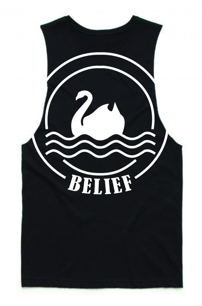 **NEW** West Coast Swan singlet
