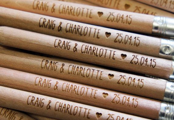 Wedding Blog UK ~ Wedding Ideas ~ Before The Big Day ~ 'Pencil us in' - Wedding Save the Dates