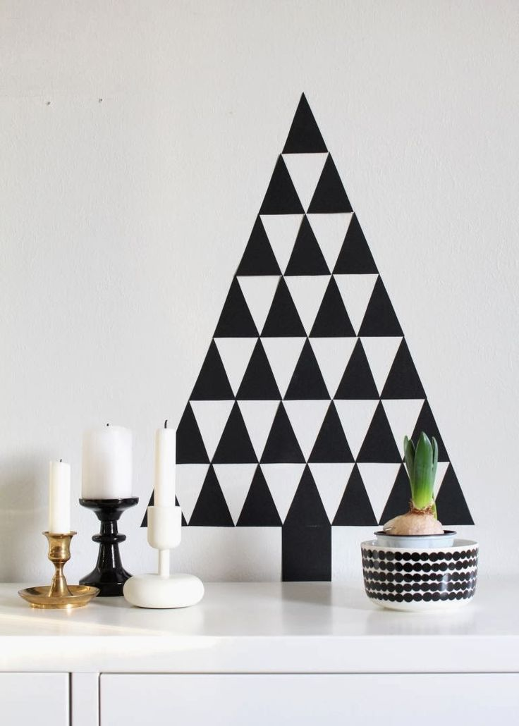 Triangles Christmas tree