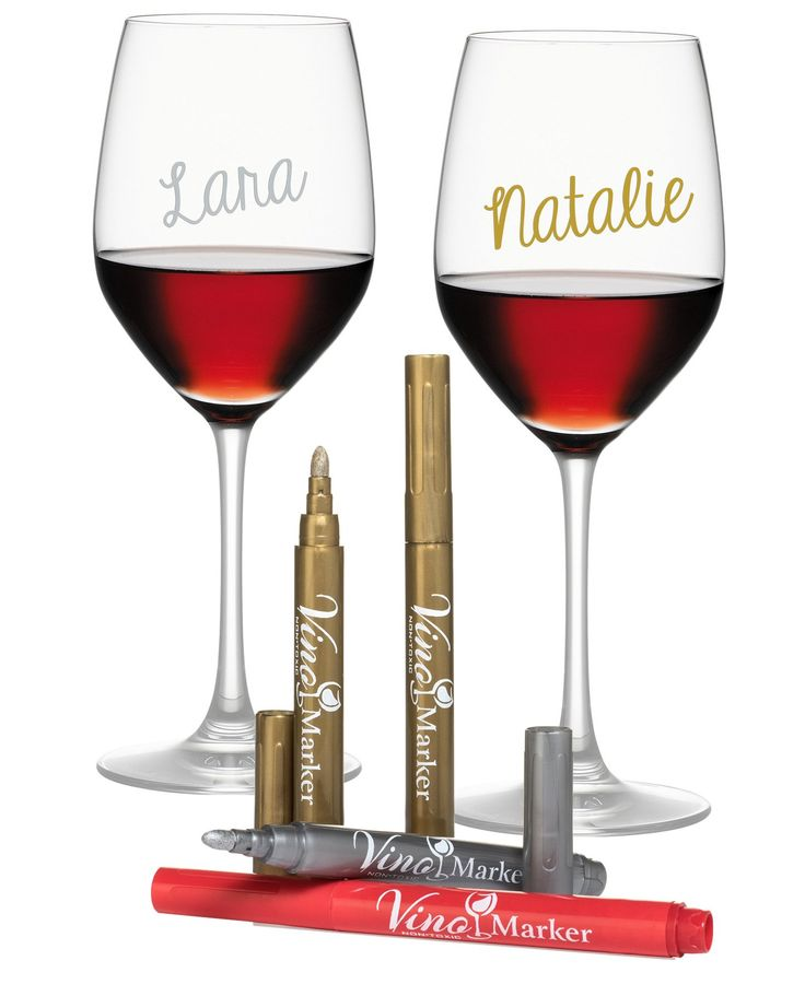never mix up wine glasses again with these helpful pens!