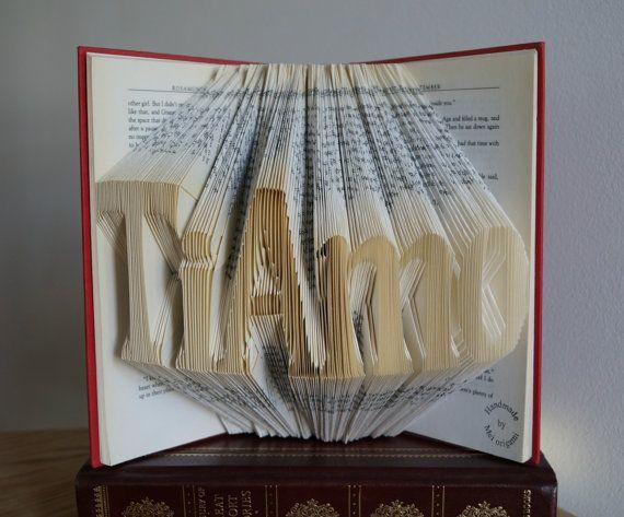 TiAmoI love you in italianarte del libroRegalo de por Meiorigami, £56.00